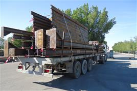 Black Material loaded for Galvanizing